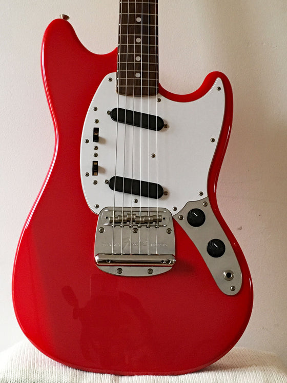 Used Fender Mustang 69 Reissue Fiesta Red