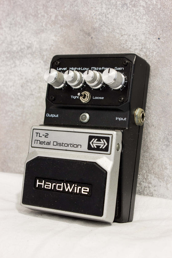 Digitech Hardwire TL-2 Metal Distortion Pedal