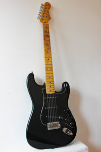 Used Squier Stratocaster Silver Series Black SST33 1992/93