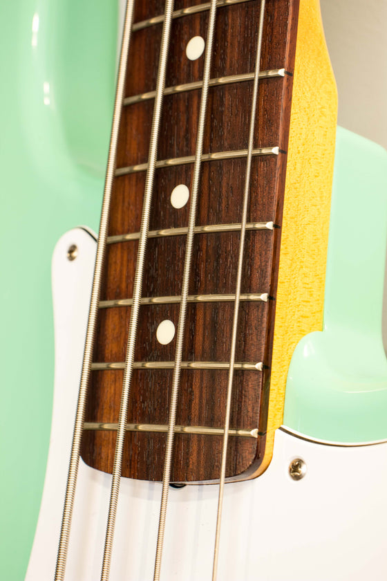 Fender Made in Japan Traditional 60s Precision Bass Surf Green 2017