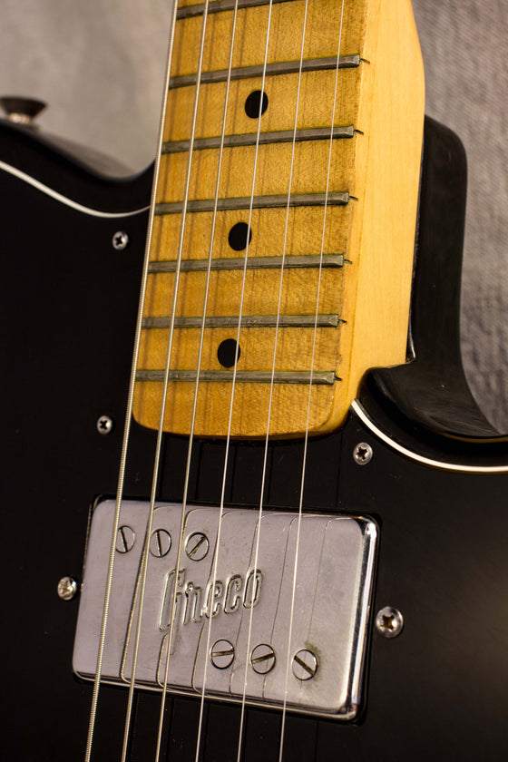 Greco Spacey Sounds TC500 Tele Custom Style Black 1974