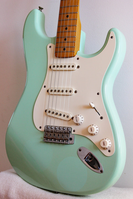Used Fender Stratocaster Classic 50s MIM Surf Green