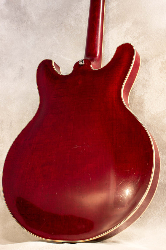 Yamaha SA-50 Hollow Body Transparent Red 1967