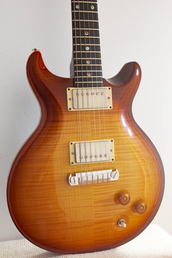 Used Paul Reed Smith Wood Library DC22 Tobacco Sunburst