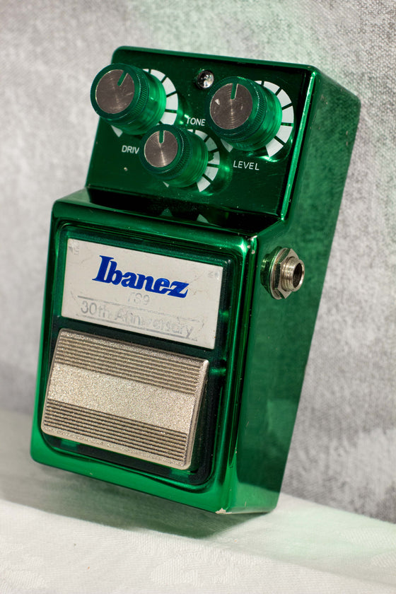 Ibanez TS9 30th Anniversary Tube Screamer Overdrive Pedal