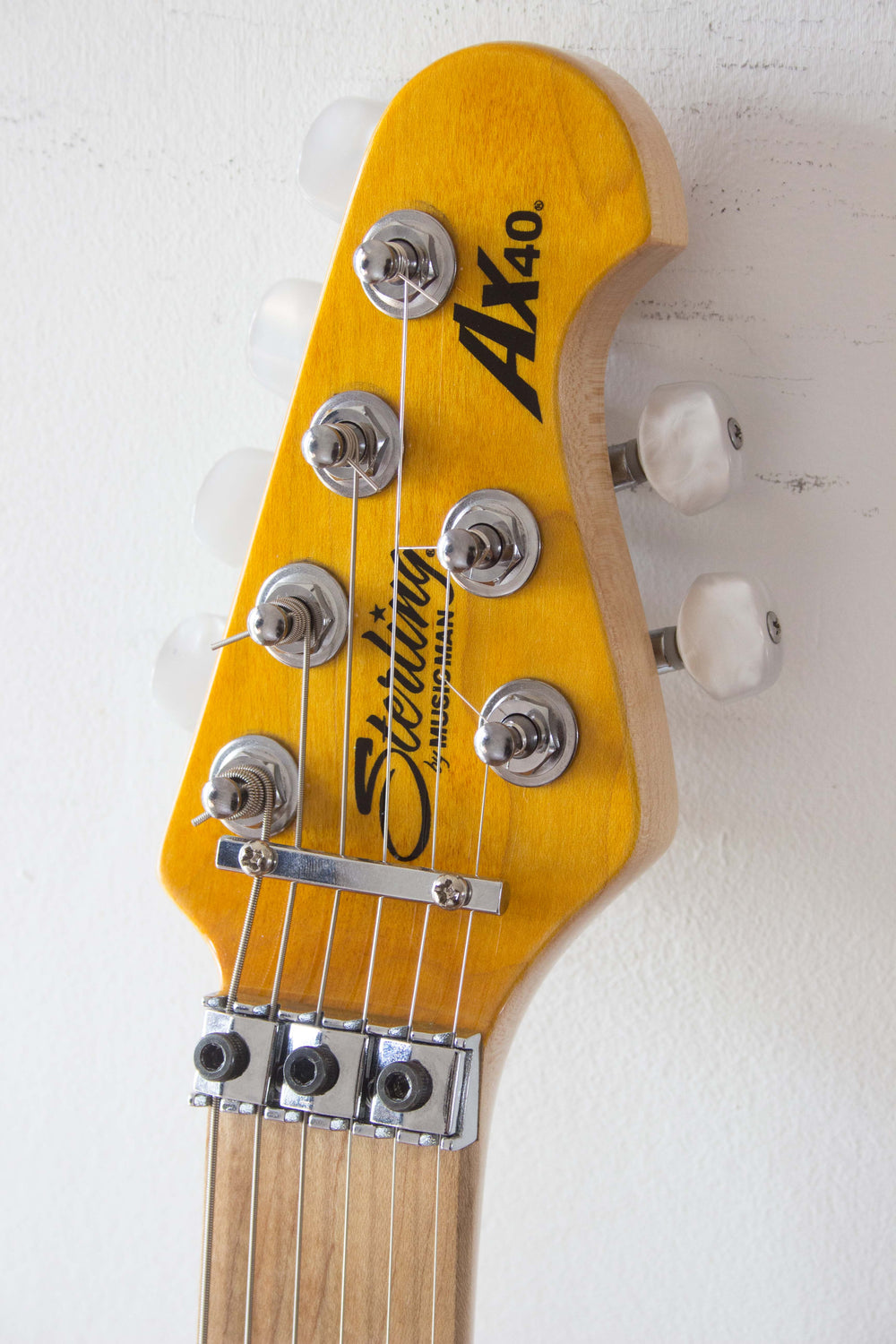 Sterling by Musicman AX40 Translucent Gold 2013