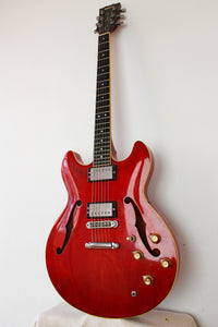 Used Yamaha SA1000 Super Axe Semi-Hollow Transparent Red 1979