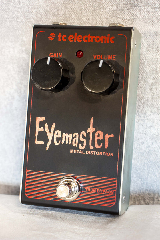 TC Electronic Eye Master Metal Distortion Pedal