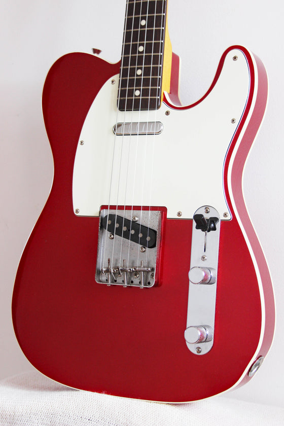 Used Fender Telecaster '62 Reissue Bound Candy Apple Red