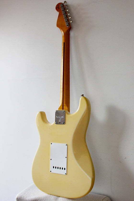 Used Fender Custom Shop Clapton Stratocaster Olympic White 1995