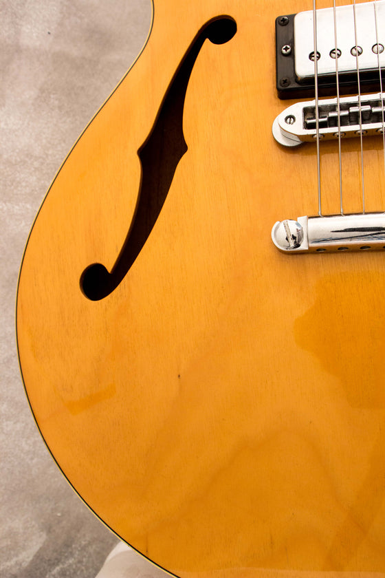 Yamaha SA700 Super Axe Semi-Hollow Natural 1979