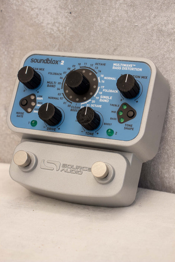 Source Audio Soundblox Multiwave Bass Distortion Pedal