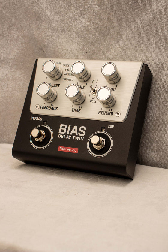 Positive Grid Bias Delay Twin Pedal