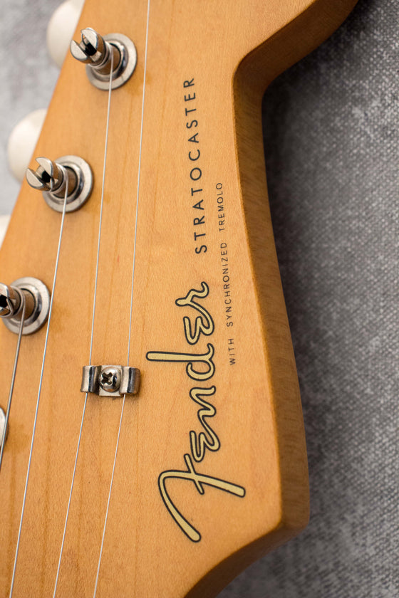 Fender Classic Series 50s Stratocaster Sonic Blue 2010