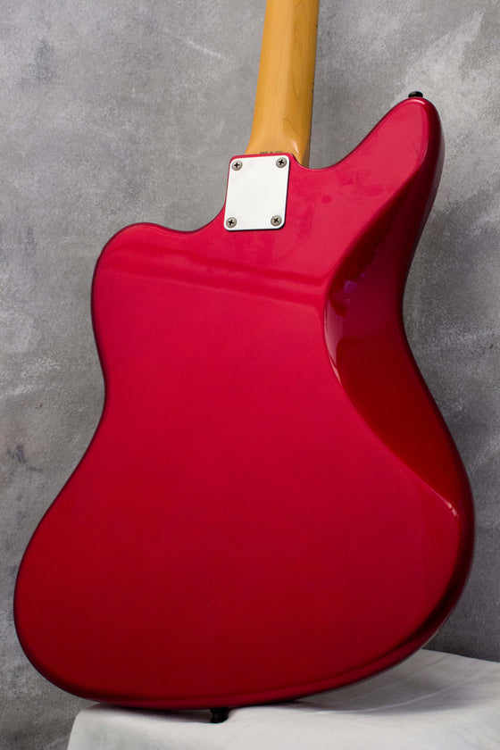 Fender Japan Jaguar JG66-85 Candy Apple Red 1996