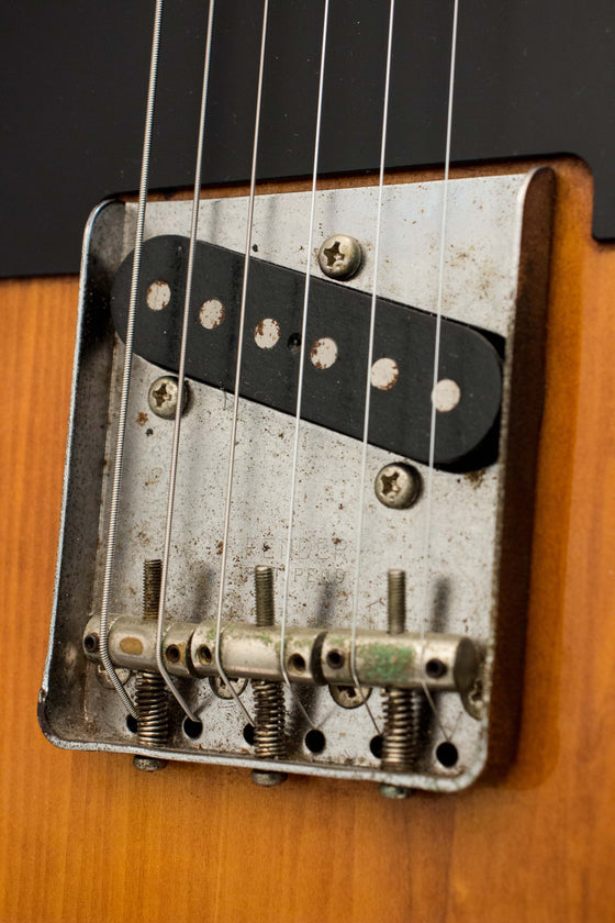 Fender Japan '52 Telecaster TL52-600 Charcoal Burst 1991