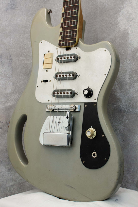 Teisco TG-64 Monkey Grip Grey 1964