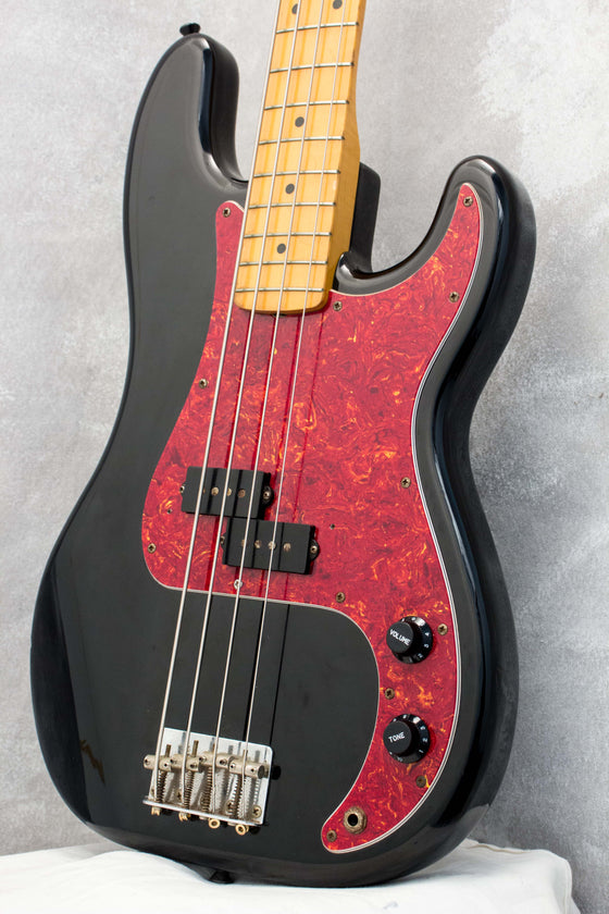 Fender Japan '57/62 Combo Precision Bass Black 1991
