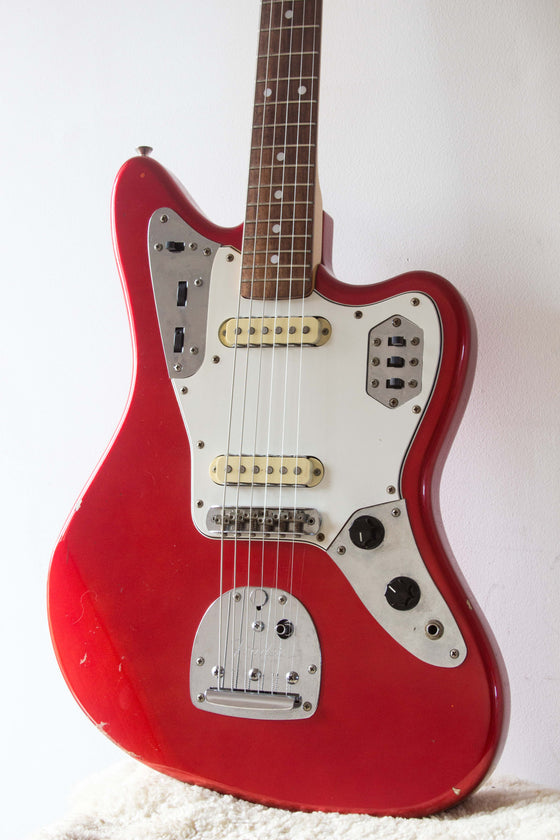 Fender Japan Jaguar JG66 Candy Apple Red 1996