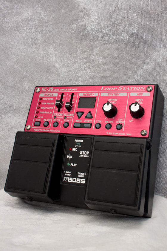 Boss RC-30 Loop Station Dual Pedal