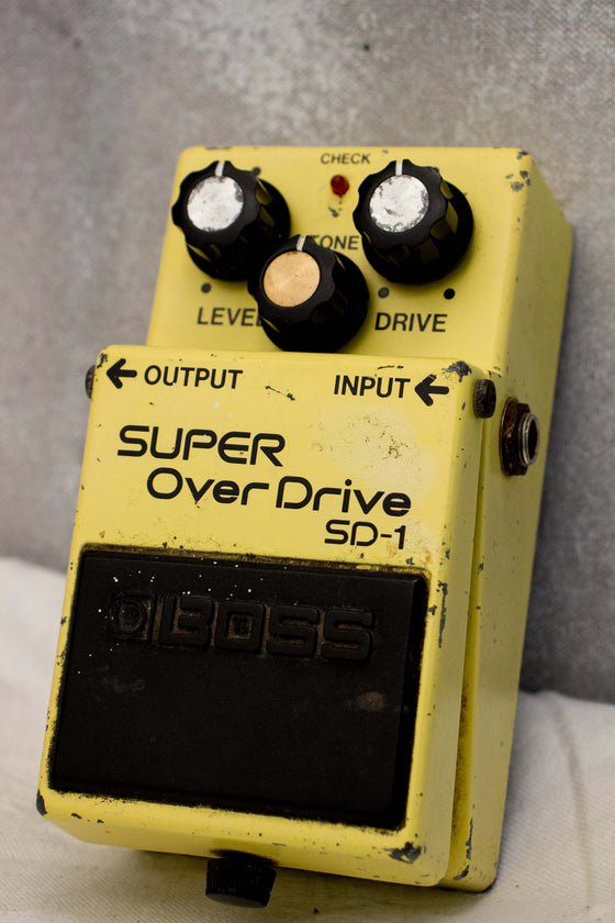 Boss SD-1 Super Overdrive Pedal Taiwan 1989