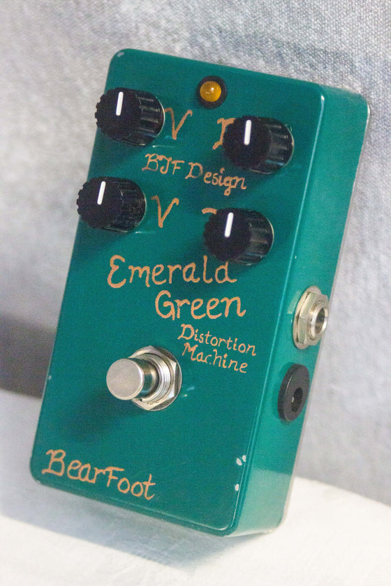 Bearfoot FX Emerald Green Distortion Machine Pedal