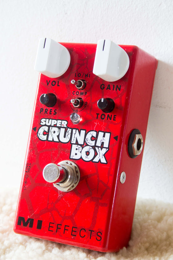MI Effects Super Crunch Box v1 Distortion Pedal