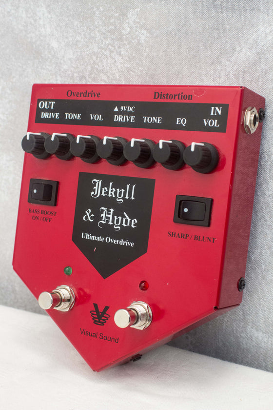 Visual Sound Jekyll & Hyde Ultimate Overdrive Pedal