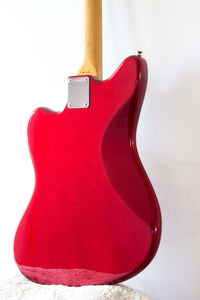 Fender Japan Jazzmaster JM66-70 Candy Apple Red 1986-7