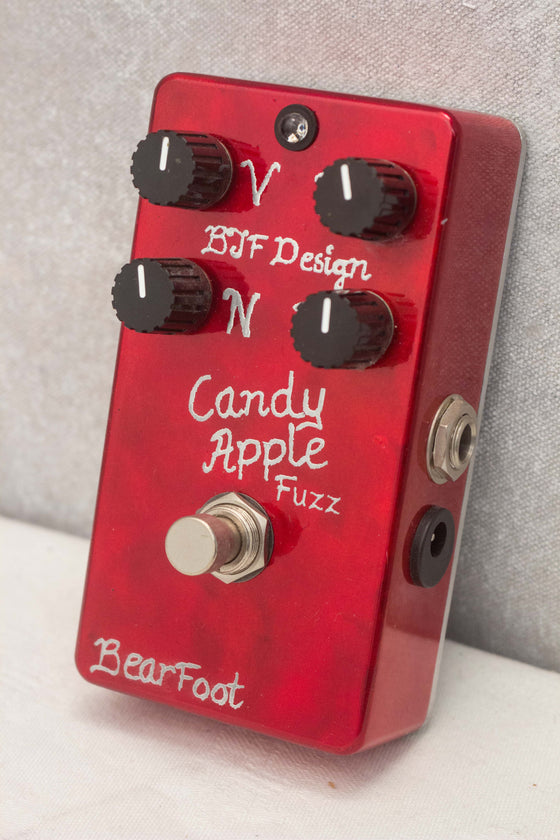Bearfoot FX Candy Apple Fuzz Silver Pedal