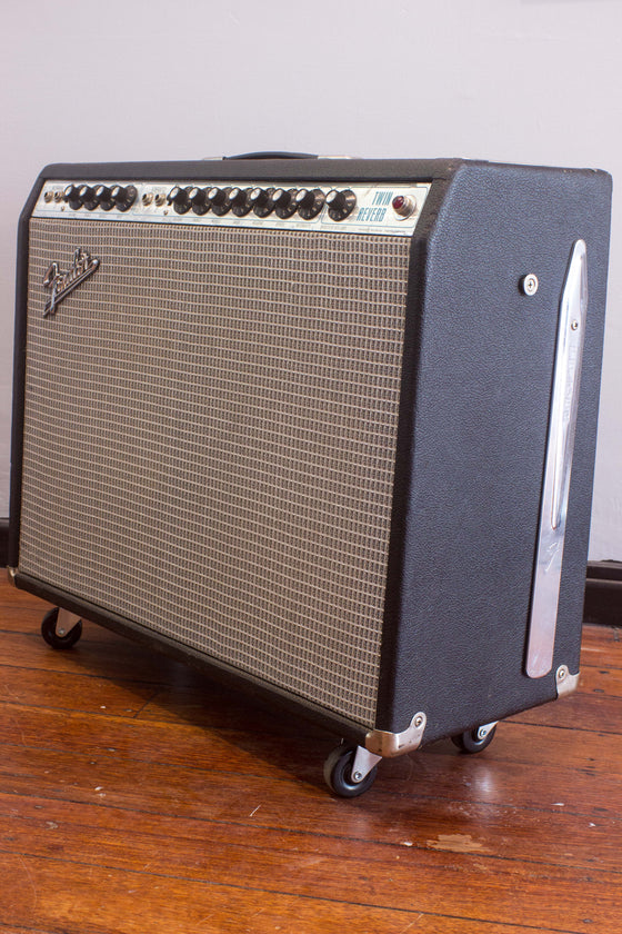"Fender Twin Reverb 2x12"" Combo Amp 1970"