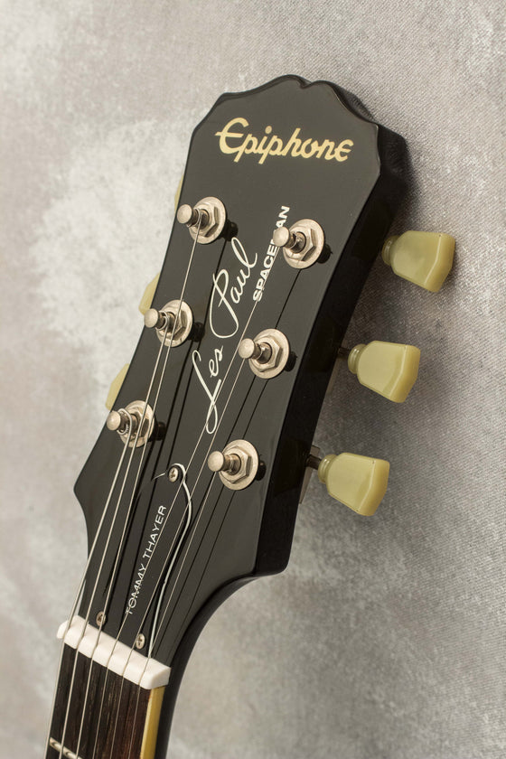 Epiphone Tommy Thayer 'Spaceman' Les Paul Standard Silver Flake 2011