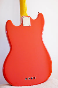 Fender Mustang Bass Fiesta Red 1997-00