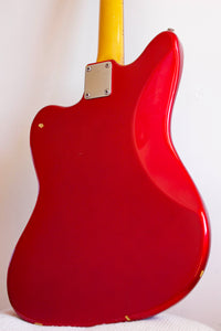 Fender Jazzmaster Worn Candy Apple Red 1999-02
