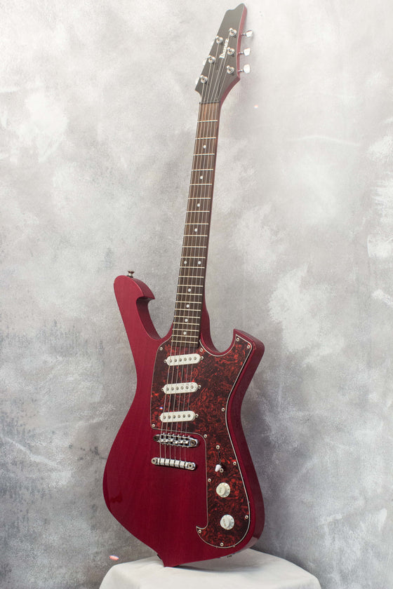 Ibanez FRM100 Paul Gilbert Fireman Trans Red 2011