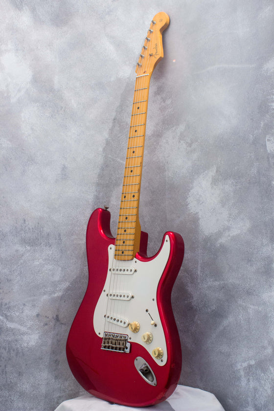 Fender Japan '57 Stratocaster ST57-70TX Candy Apple Red 2000