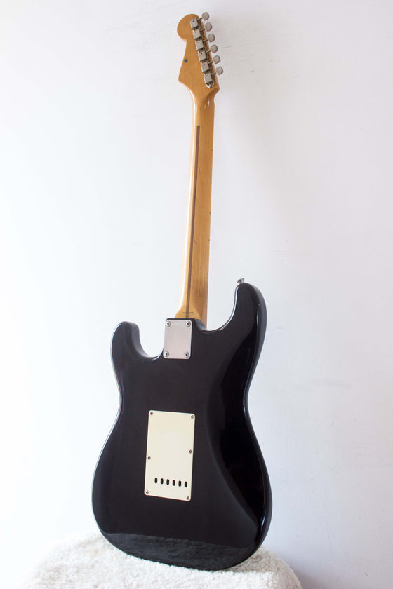 Fender Japan '57 Reissue Stratocaster ST57-55 Black 1987