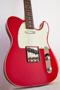 Fender Telecaster '62 Reissue Texas Specials Bound Candy Apple Red 2006-8