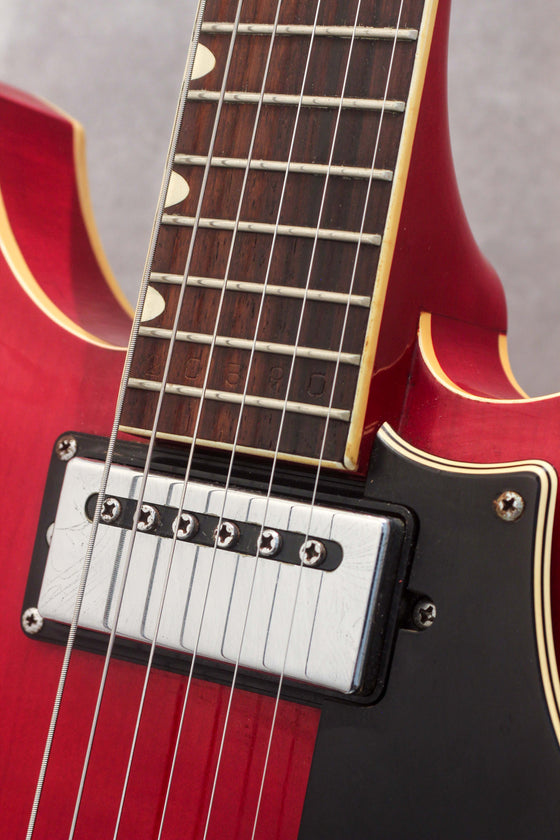 Yamaha SA-30 Hollow Body Transparent Red 1973