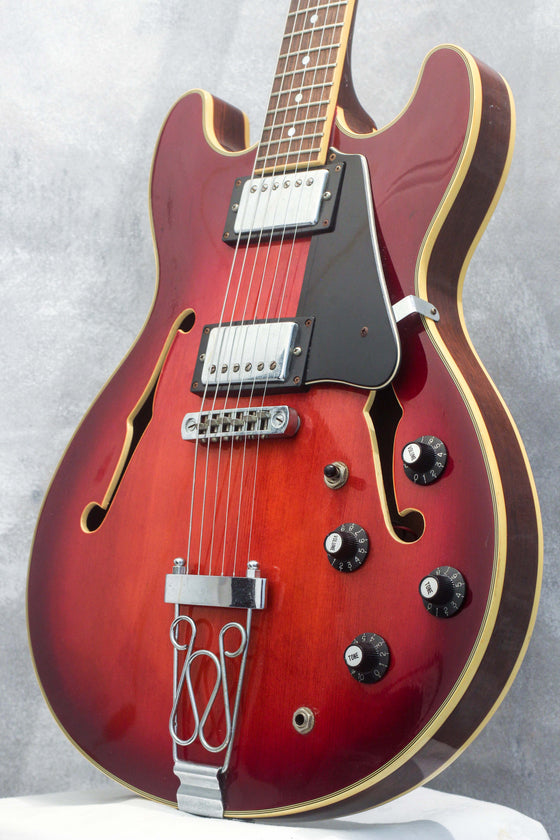 Aria Pro II TA-1 Semi Hollow Violin Burst 1999