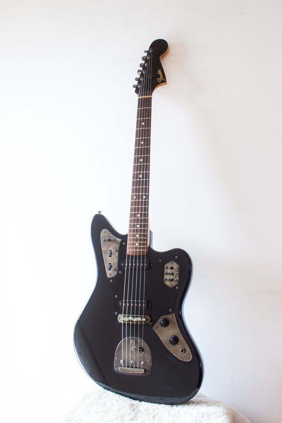 Fender Japan Jaguar JG66-110 Black on Black 1999-02