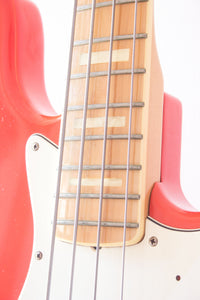 Fender Japan '75 Reissue Jazz Bass JB75-90US Fiesta Red 1997-00