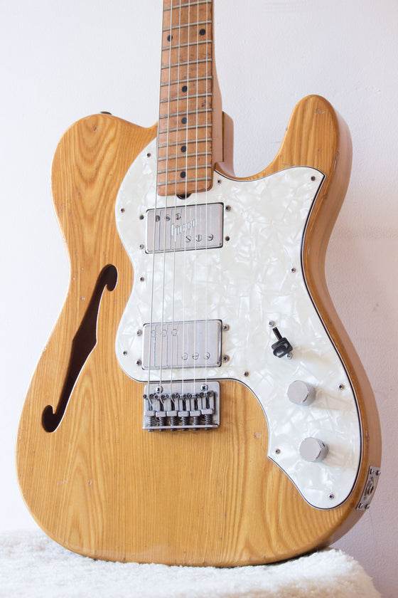 Greco TE500 Thinline Tele Style Natural Gloss 1974