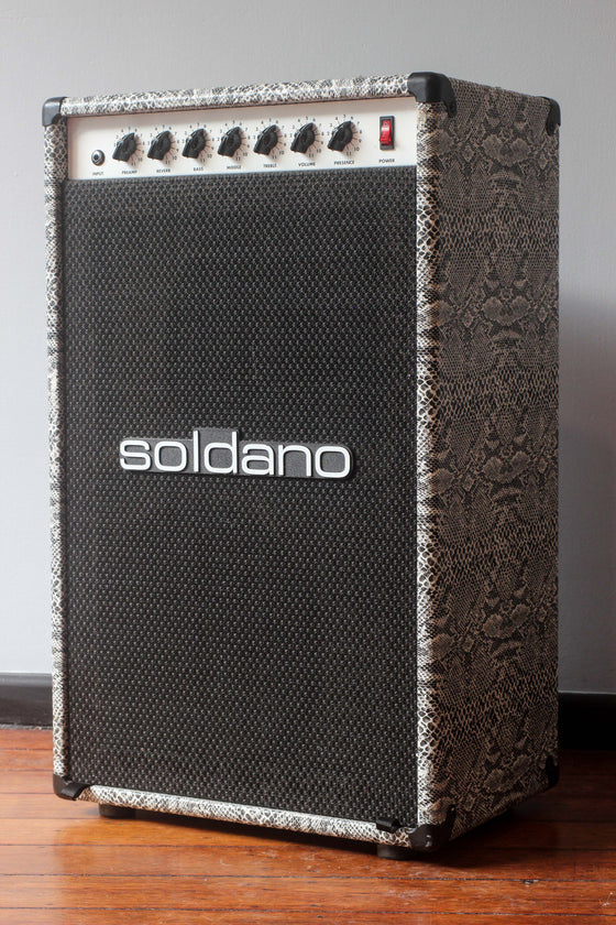 "Soldano Astroverb 16 2x12"" Snakeskin Combo Amp"