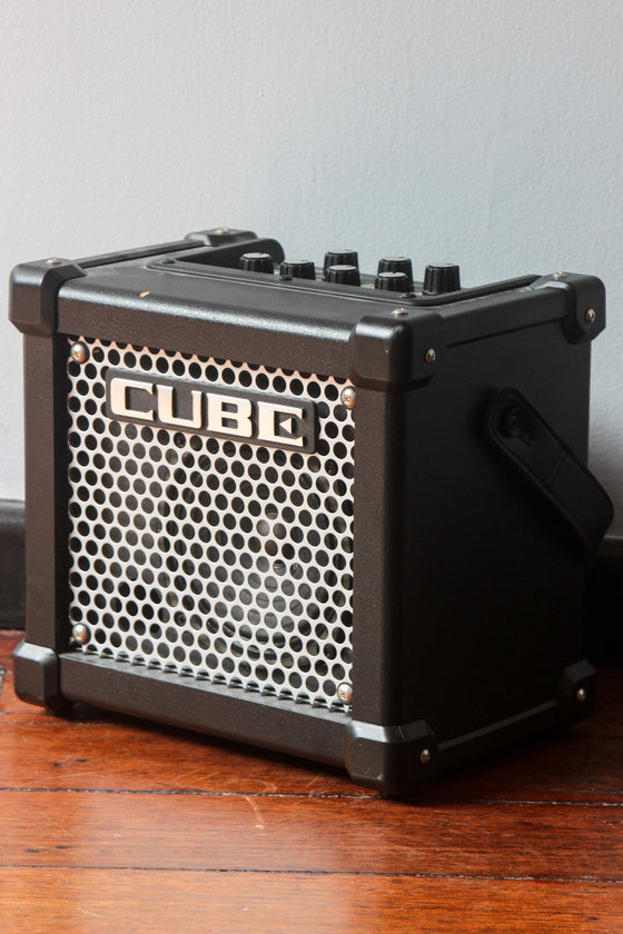 Roland Micro Cube GX Black 2W Battery Powered Guitar Amp