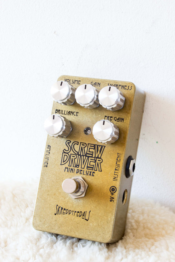 Skreddy Pedals Screw Driver Mini Deluxe Overdrive Pedal