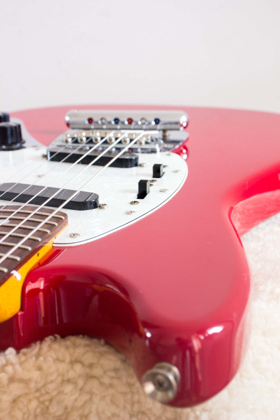 Fender Japan '66 Reissue Mustang MG66-66 Torino Red 2004