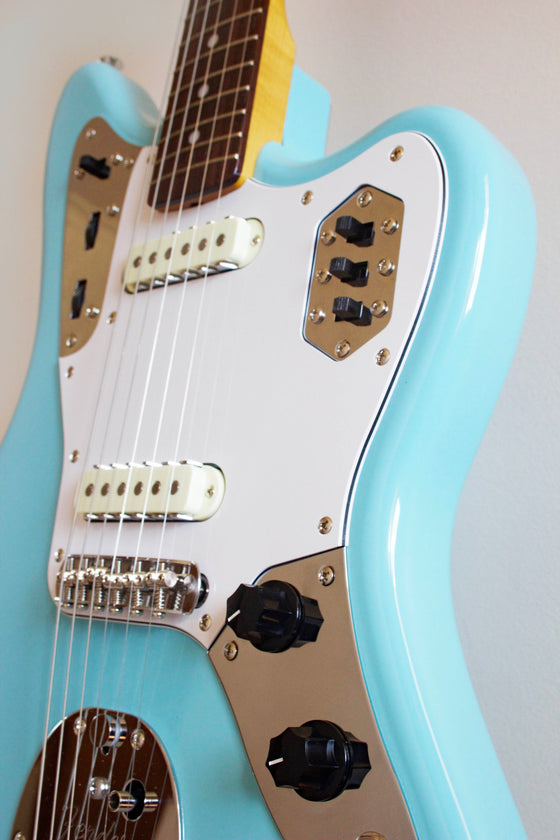 Fender Traditional 60s Jaguar Sonic Blue 2017