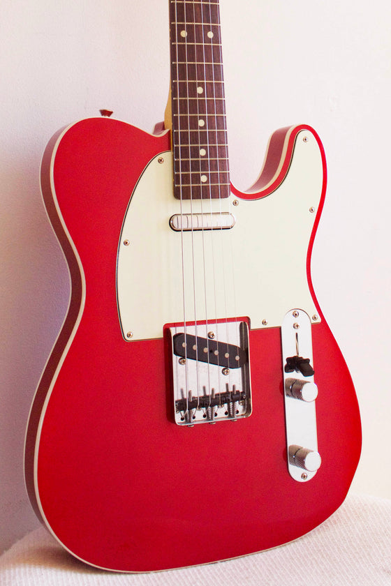 Fender '62 Reissue Telecaster TL62B-75TX Bound Candy Apple Red 2016