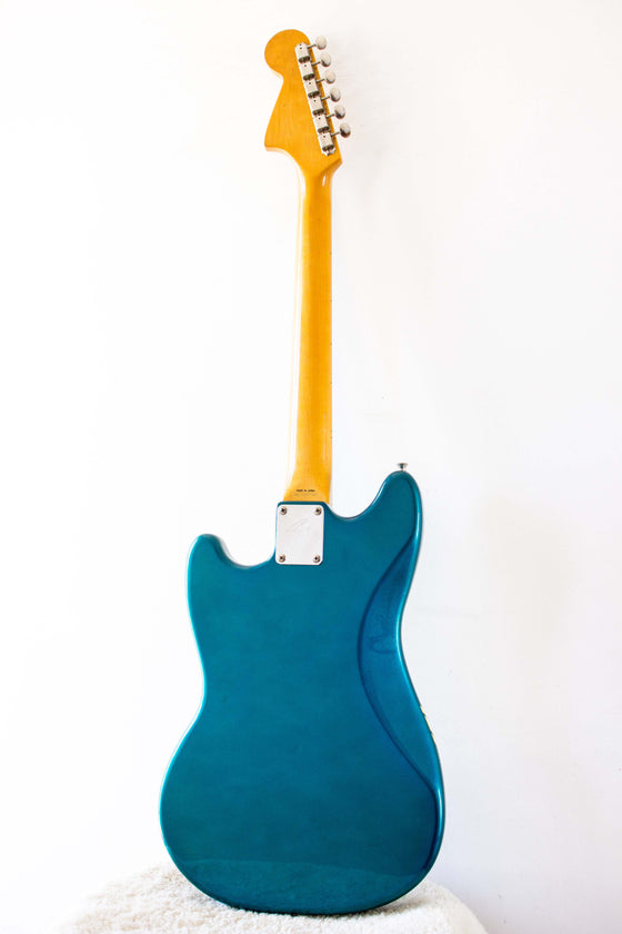 Fender Japan '73 Reissue Competition Mustang MG73/CO Aged Lake Placid Blue 1989